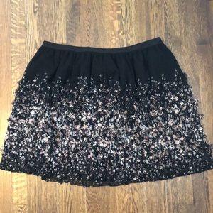 A New Day Black TU TU mini skirt